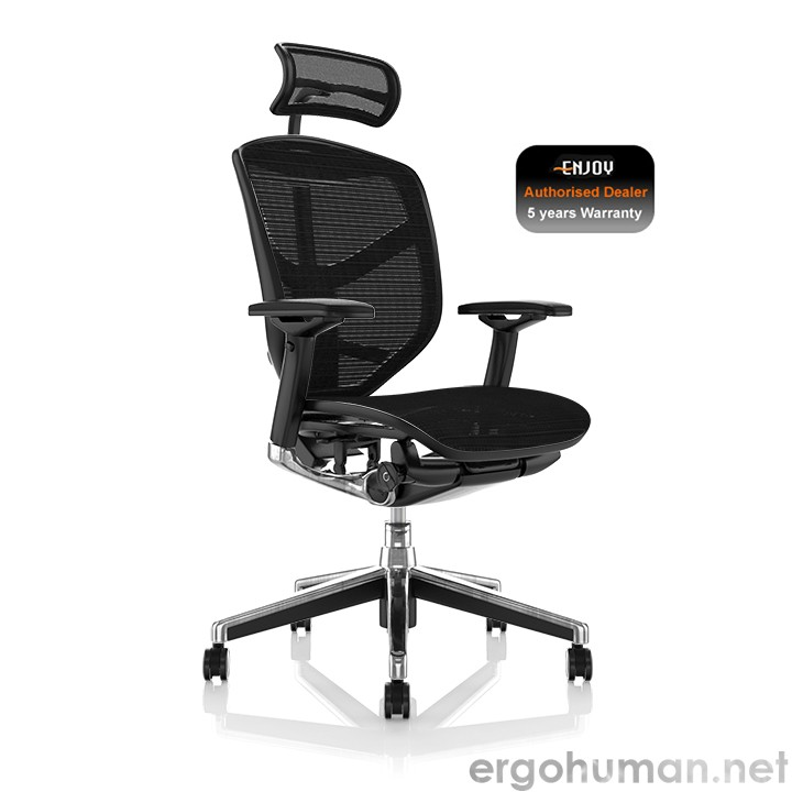 Enjoy Black Mesh Office Chairs